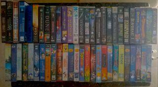 Coleccion de 105 Peliculas en VHS