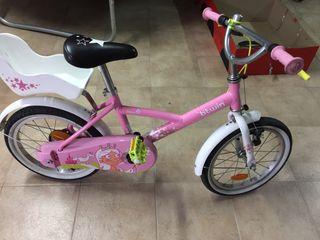 Bicicleta niña talla 16