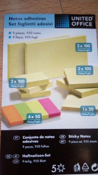 9 paquetes d etiquetad adhesivas