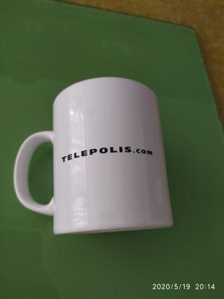 Taza mug edición para colecc portal Telépolis