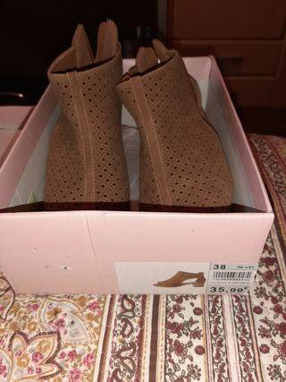 zapatos marron talla 38