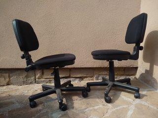dos sillas oficina