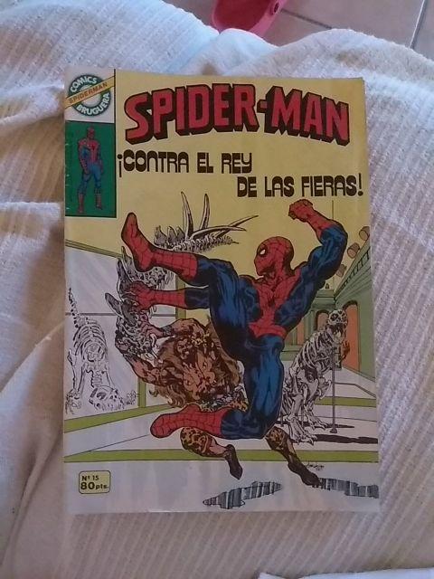 comic Spiderman lote