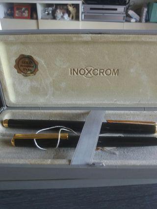 plumas estilográfica y bolígrafos antiguos