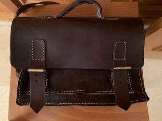 Bolsa maletín piel