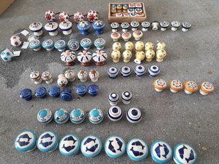 Tiradores porcelana