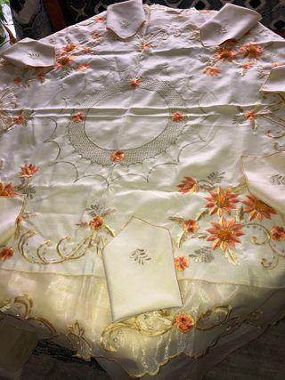Mantel de mesa marroquí
