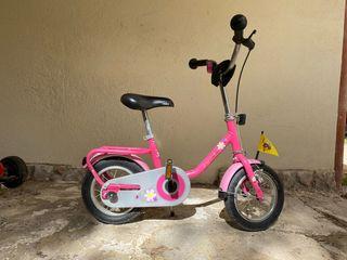 Puky bicicleta niña pequeña