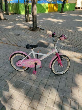 Bicicleta Decathlon Niña
