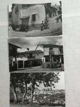 TRES POSTALES DE GUADALUPE