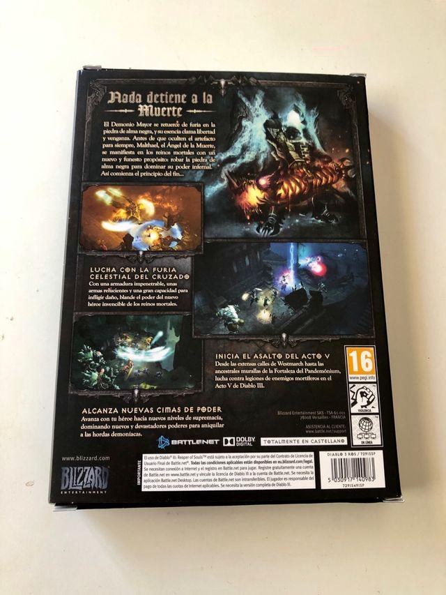 Diablo, expansion Reaper Of Souls, PC