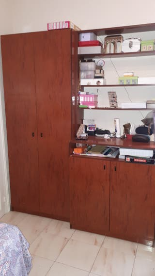 Armario + zapatero + estanterias