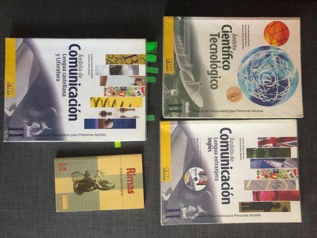 libros educación secundaria para personas adultas