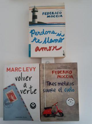 3 novelas