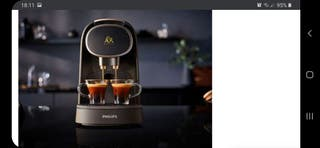 Cafetera Philips Lor