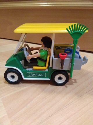 Coche Jardinería Playmobil
