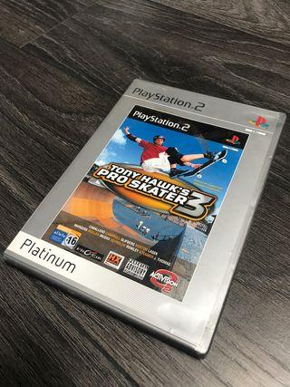 Tony Hawks pro skater 3 juego PS2