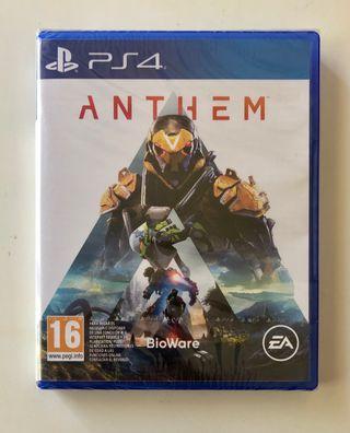 Anthem, juego nuevo PS4