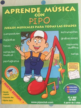 Aprende música con Pipo