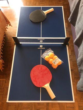 Mesa de Ping pong pequeña Artengo