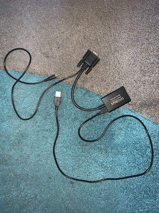 Cable vga a hdmi regalo cable vga