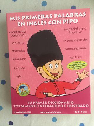 Mis primeras palabras en inglés con Pipo