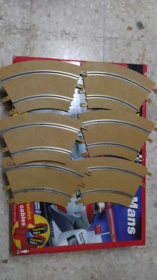 6 curvas estándar Raid Ninco