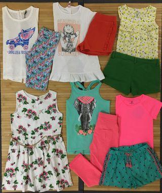 Lote ropa verano niña talla 7-8 años