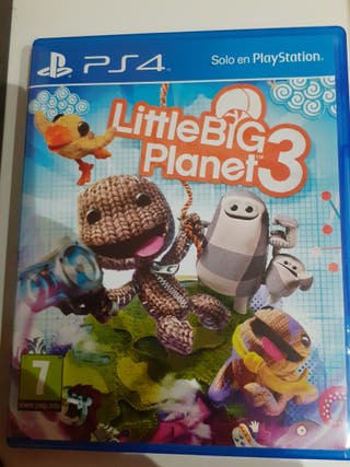 Little Big planet 3 para PS4. completo