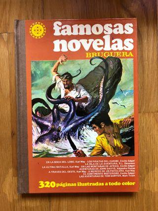 """Libro """"Famosas novelas"""""""