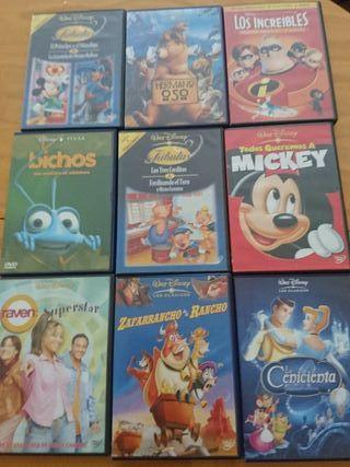 Peliculas dvd Disney originales