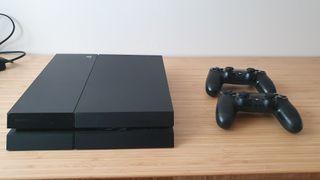 PS4 500gb + 2 mandos + 24 juegos