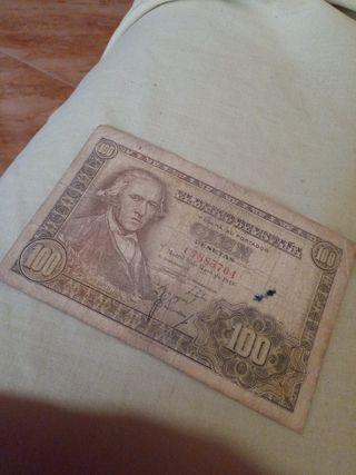 BILLETE DE 100 PESETAS DE 1948
