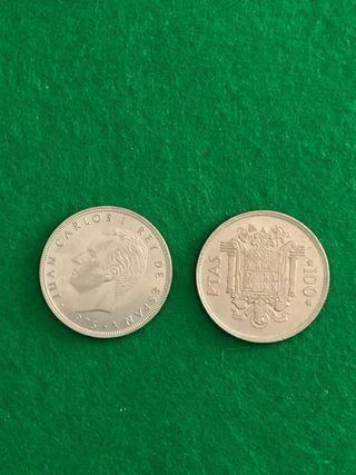Monedas 100 pesetas 1975
