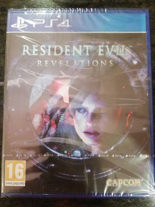 Resident Evil Revelations PS4 Precintado