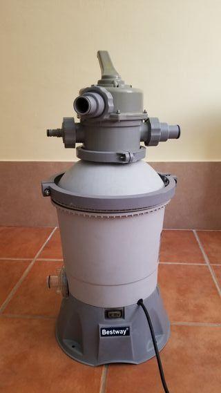 Depuradora piscina (filtro de arena)