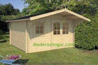 Casas prefabricadas, cabañas de madera.