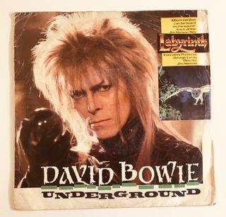 DAVID BOWIE Underground Disco Vinilo Single