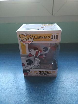 Funko Pop figura de Cuphead