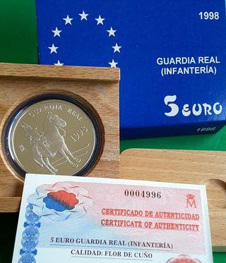 5 EURO Guardia Real, Infanteria 1998