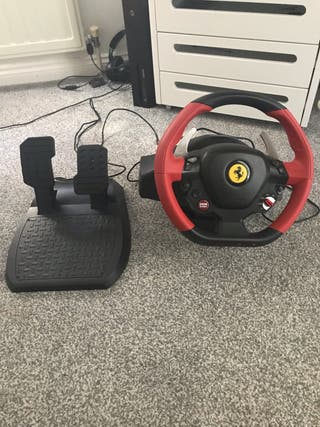 Thrustmaster 458 Spider Racing Wheel/Pedals