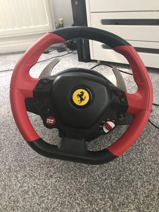Thrustmaster 458 Spider Racing Wheel/Pedals