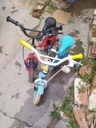 2 bicicletas para niños