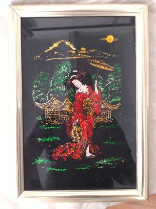 Cuadrito Geisha