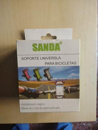 Soporte móvil para bici