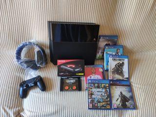 Vendo PS4 + diferentes artículos