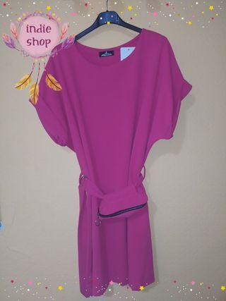 vestido Curvy's con riñonera
