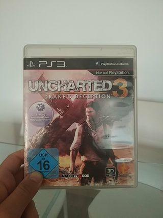 Uncharted 3 PS3 Videojuego