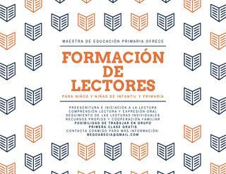 Formación de Lectores (de 3 a 12 años)