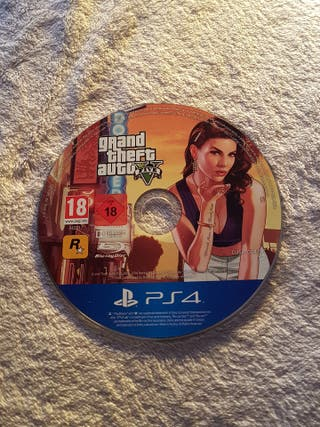 GTA V PS4 (sólo CD)